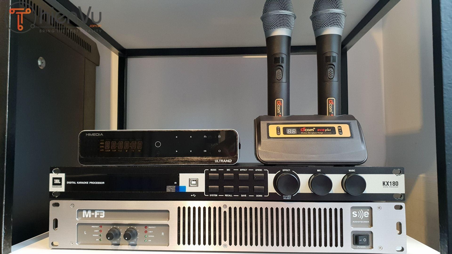 Đầu karaoke cao cấp hiện đại Himedia Q10 Pro MF3