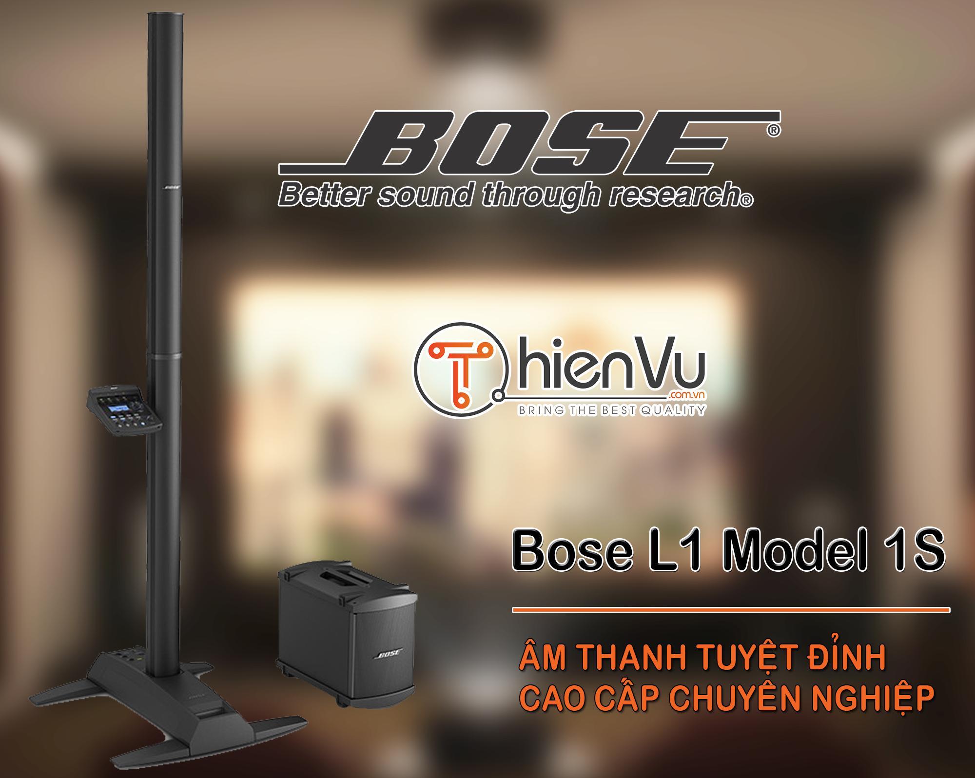 Loa Bose L1 Model 1S thực tế