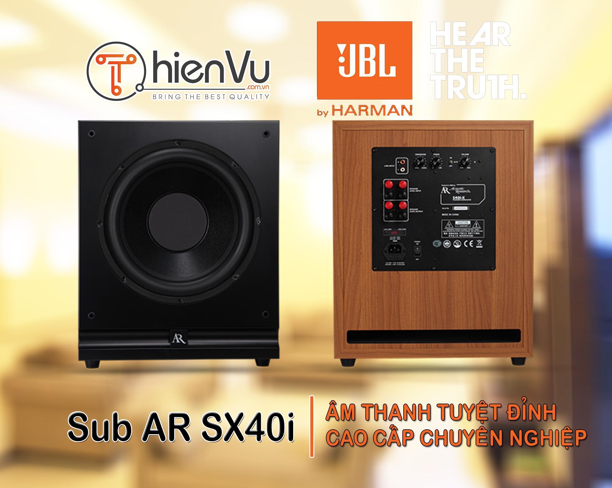Loa Sub AR SX40I