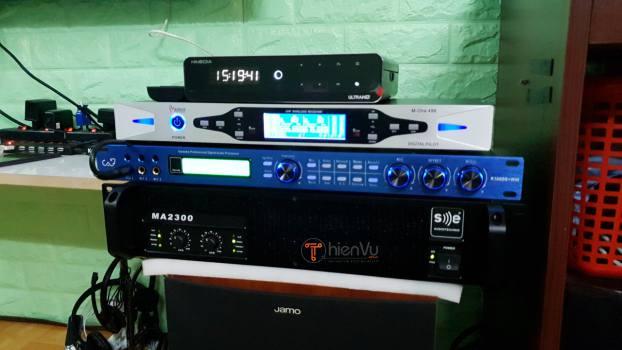 Bàn giao bộ dàn karaoke TVAP 23