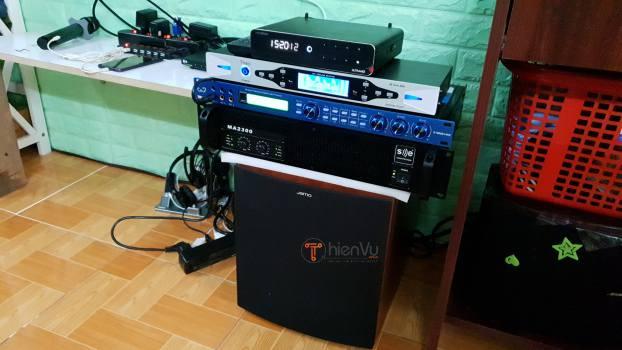 Điều chỉnh âm thanh dàn karaoke TVAP 23