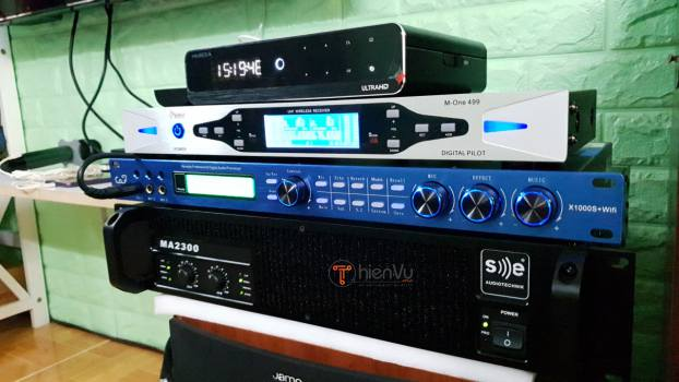 Hoàn thiện dàn karaoke TVAP 23