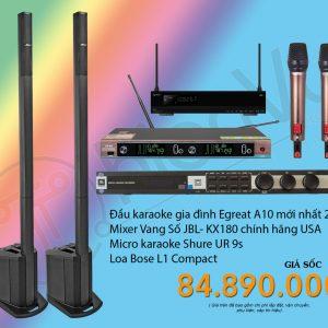 Bộ dàn karaoke gia đình cao cấp TVAP 21