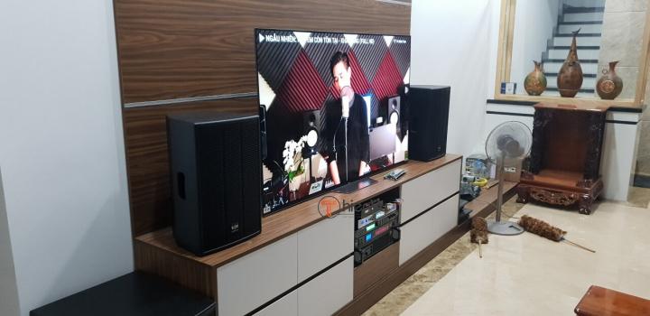 Quy trình lắp dặt dàn karaoke TVAP 25