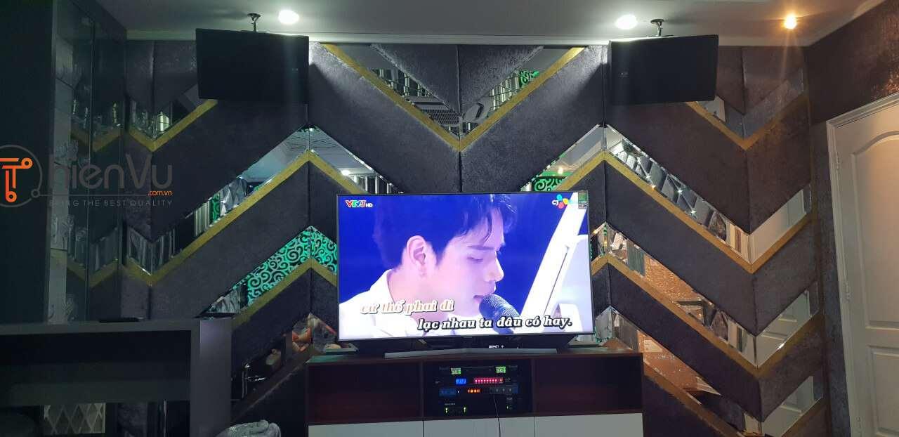 Quá trình treo loa dàn karaoke TVAP 20