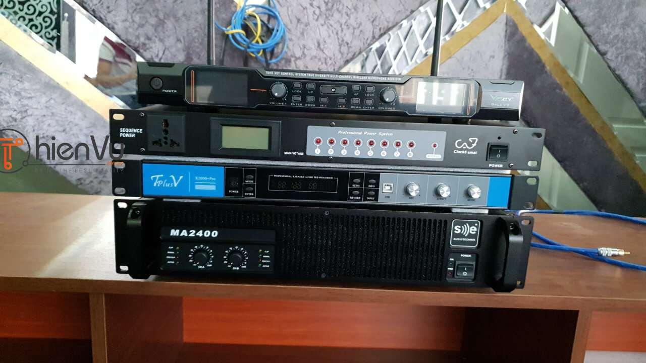 Bộ dàn karaoke TVAP 20 đầy đủ