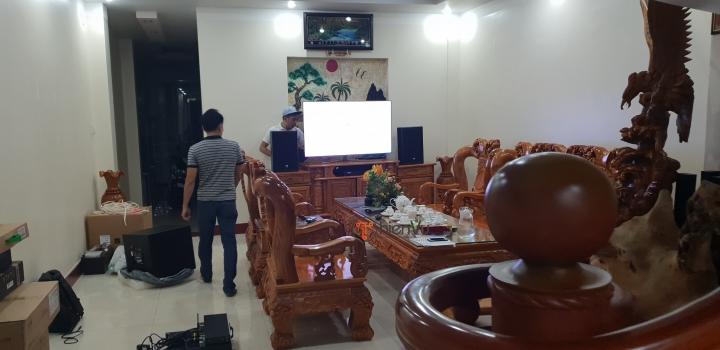 Quy trình lắp bộ dàn karaoke TVAP 26