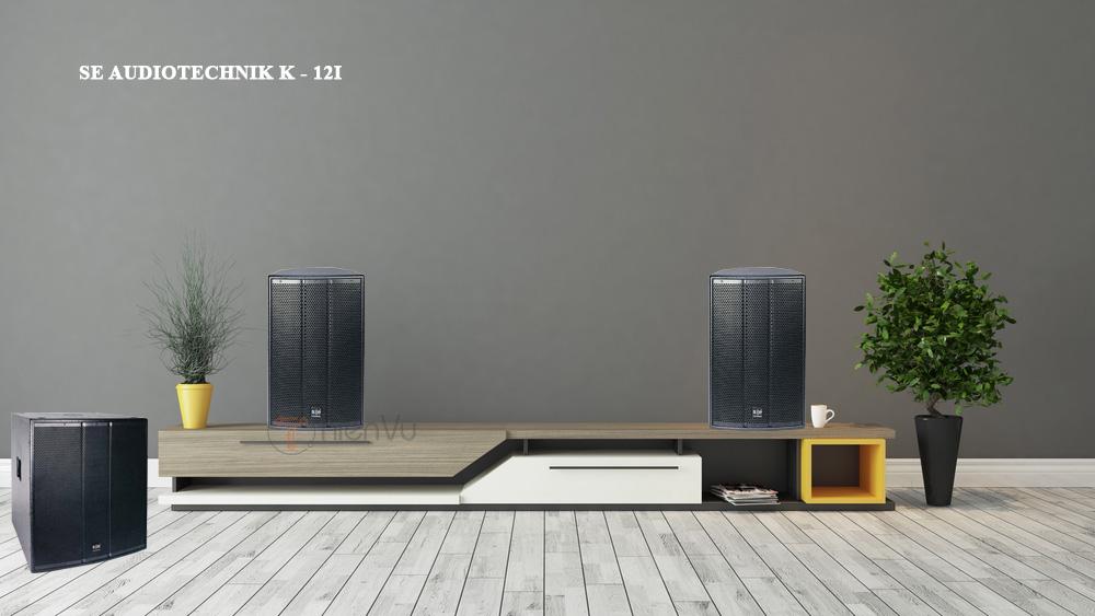 Loa SE K-12i mang đến trải nghiệm âm thanh cao ngay tại nhà bạn