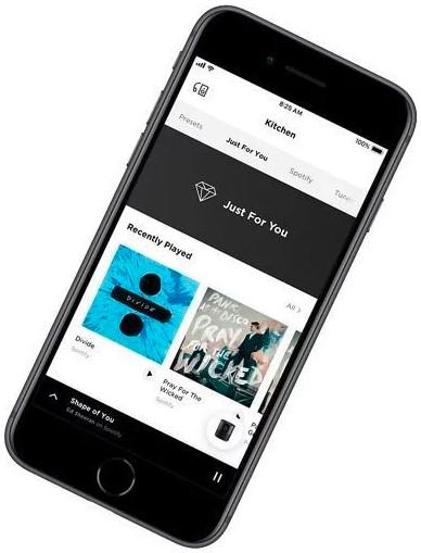 ứng dụng kết nối Bose Music
